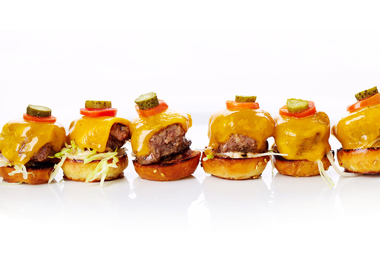 mini kobe beef burgers at the 2014 Governors Ball
